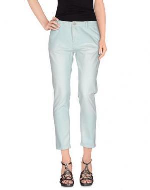 Джинсовые брюки MAISON SCOTCH. Цвет: небесно-голубой