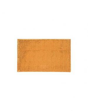 Косметичка MM6 MAISON MARGIELA. Цвет: оранжевый