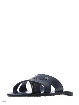 Пантолеты ID! Collection. Цвет: черный, синий