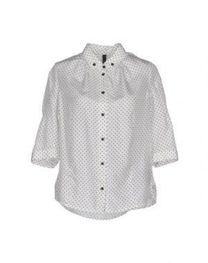 Pубашка HIGH. Цвет: белый
