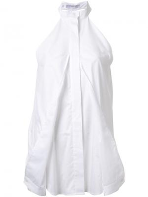 Рубашка Release Dion Lee. Цвет: белый
