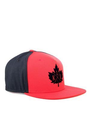 Кепка Franchise snapback cap K1X. Цвет: черный, красный