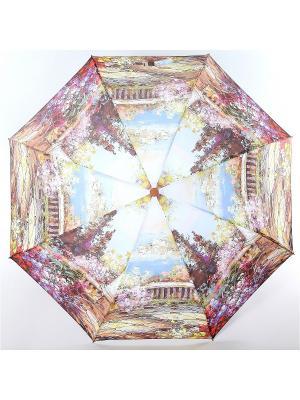 Зонт Magic Rain. Цвет: фиолетовый, бежевый, светло-коралловый
