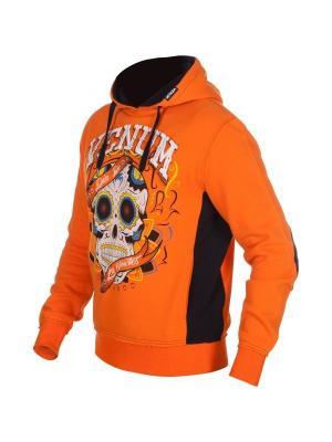 Худи Venum. Цвет: оранжевый