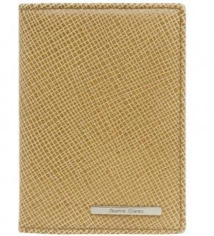 Обложки для паспорта с шестью кармашками карточек Gianni Conti. Цвет: бежевый