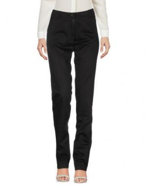 Повседневные брюки KEN BARRELL. Цвет: черный