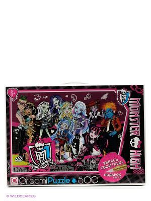 Пазл Monster High, 500 эл. High. Цвет: черный, розовый