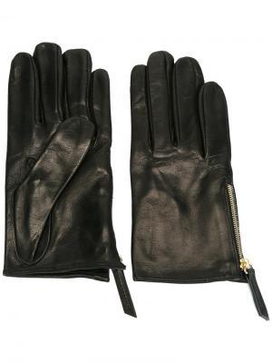 Перчатки с молниями Want Les Essentiels De La Vie. Цвет: чёрный