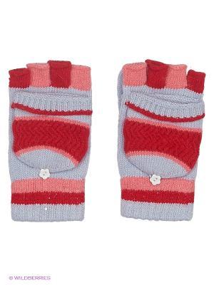 Перчатки Maxval. Цвет: голубой, красный