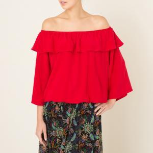 Блузка AZAR BA&SH. Цвет: красный