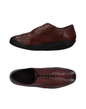 Обувь на шнурках MBT. Цвет: коричневый
