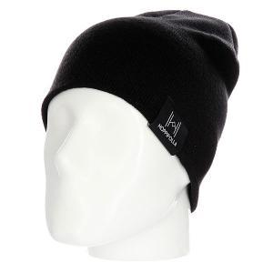 Шапка  Longyearbyen Black Hoppipolla. Цвет: черный