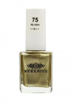 Лак для ногтей Berenice. Цвет: золотой