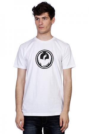Футболка  Icon Slim F12 White Dragon. Цвет: белый