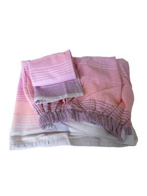 Набор для сауны женский TOALLA. Цвет: красный