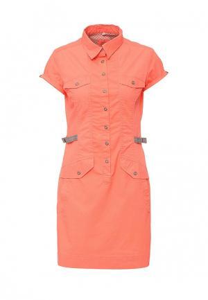Платье Torstai. Цвет: коралловый