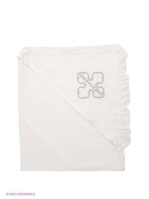 Полотенце-накидка Ангел мой. Цвет: белый, серебристый