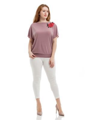 Блузка Lady Di. Цвет: бледно-розовый