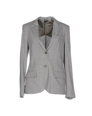 Пиджак ASPESI. Цвет: светло-серый