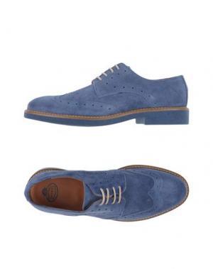 Обувь на шнурках BRAWN'S. Цвет: грифельно-синий