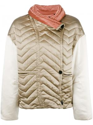 Куртка-пуховик Hector Isabel Marant. Цвет: телесный