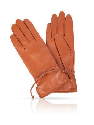 Перчатки Michel Katana. Цвет: коричневый