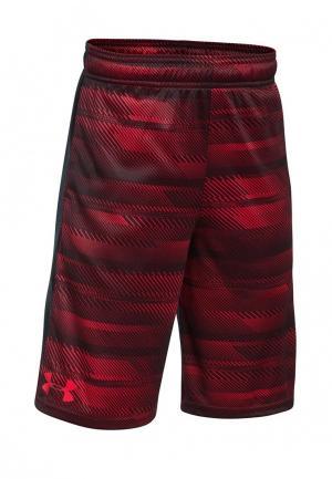 Шорты спортивные Under Armour. Цвет: красный