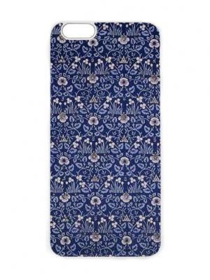 Чехол для iPhone 6 Синие лютики Chocopony. Цвет: синий, белый