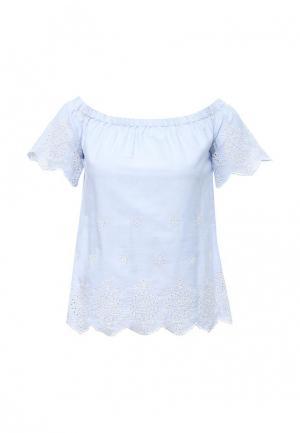 Блуза Dorothy Perkins. Цвет: голубой