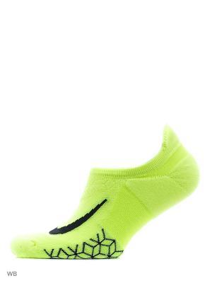 Носки U NK ELT CUSH NS Nike. Цвет: желтый, салатовый