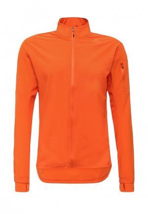 Олимпийка adidas Performance. Цвет: оранжевый