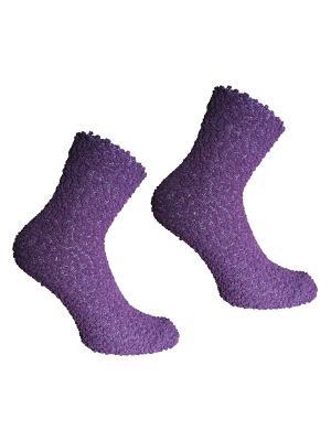 Носки, 2 пары Master Socks. Цвет: сиреневый