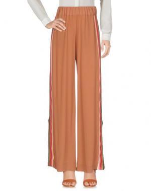 Повседневные брюки MARCHÉ_21. Цвет: коричневый