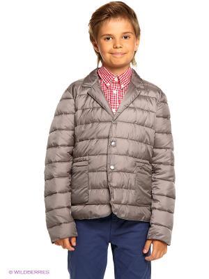 Куртка Bomboogie Kids. Цвет: серый