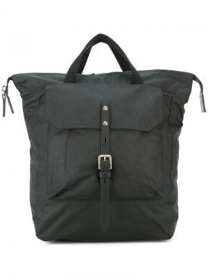 Рюкзак с пряжкой Ally Capellino. Цвет: чёрный