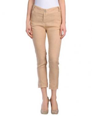 Повседневные брюки MISS MONEY. Цвет: бежевый