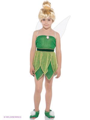 Карнавальный костюм Фея Динь-Динь Батик. Цвет: зеленый