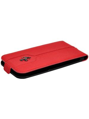 Чехол Ferrari для iPhone 6/6S Montecarlo Flip Red. Цвет: красный
