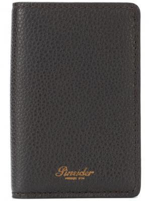 Logo cardholder Pineider. Цвет: коричневый