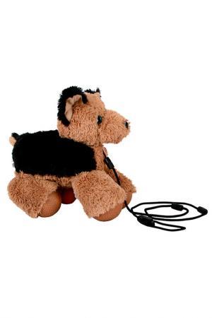 Собачка-Шагачка, овчарка TOY TARGET. Цвет: коричневый