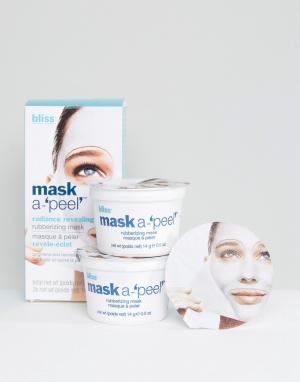 Bliss Очищающая маска для сияющего лица 3 x 14 г Mask-A -Peel. Цвет: бесцветный