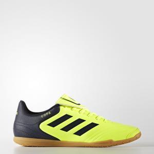 Футбольные бутсы (футзалки) Copa 17.4 IN  Performance adidas. Цвет: желтый