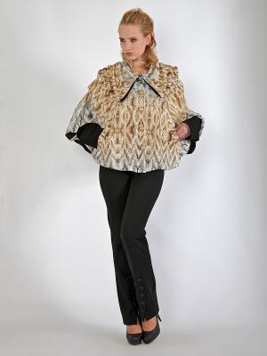 Куртка, Lissa. Цвет: светло-коричневый, белый, рыжий