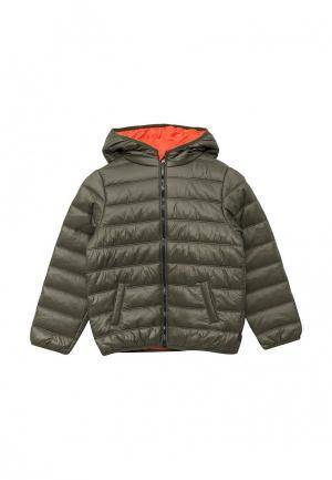 Куртка утепленная Chicco. Цвет: хаки