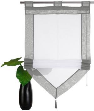 Римская штора Xanten Otto. Цвет: серый