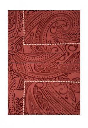 Комплект постельного белья Семейный Asabella. Цвет: красный