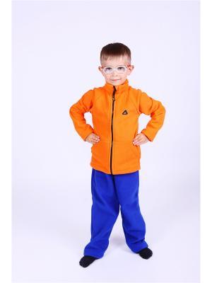 Кофта Радуга ЛисФлис. Цвет: оранжевый