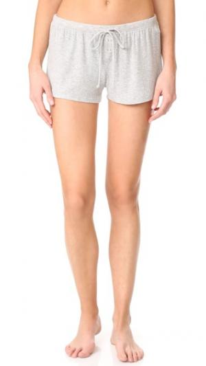Пижамные шорты Just Peachy PJ Salvage. Цвет: серый меланж