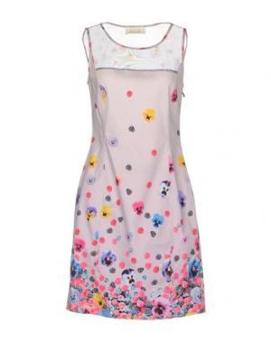 Короткое платье EAN 13. Цвет: светло-фиолетовый