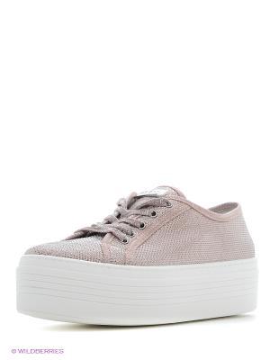 Сникеры GUESS. Цвет: розовый